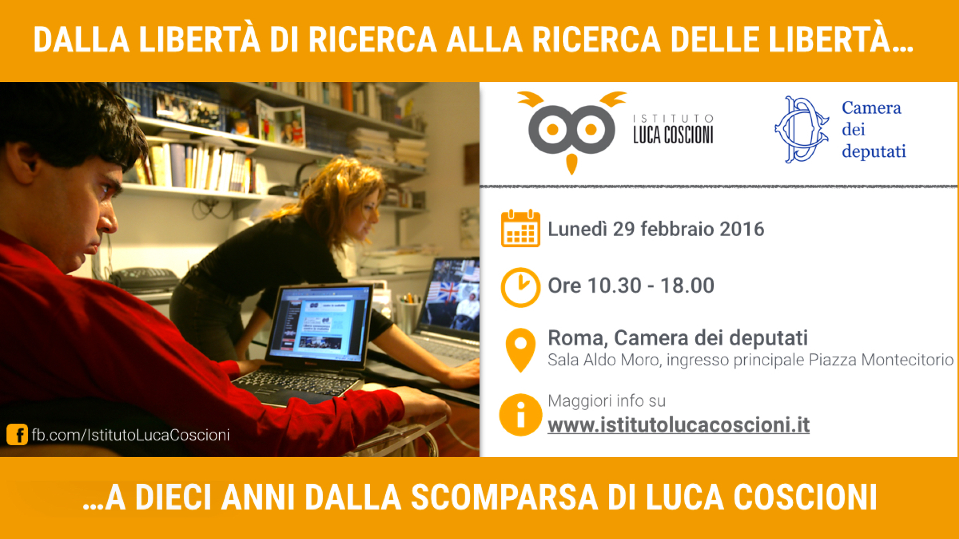 Assegnazione Premio Luca Coscioni 2015