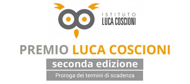 Premio Tesi Luca Coscioni – Seconda Edizione